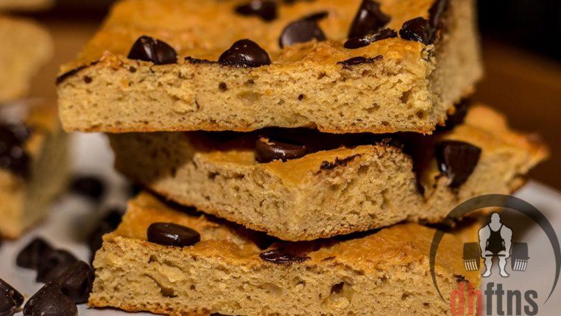 Protein Peanut Butter Squares Recipe