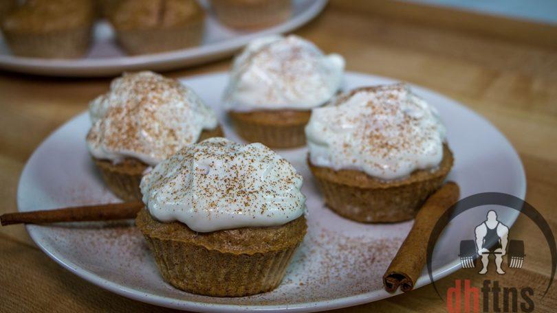 Cinnamon Swirl Protein Cupcakes Recipe