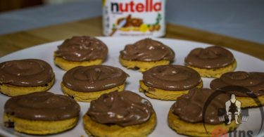 Nutella Protein Cheesecake Bites Recipe
