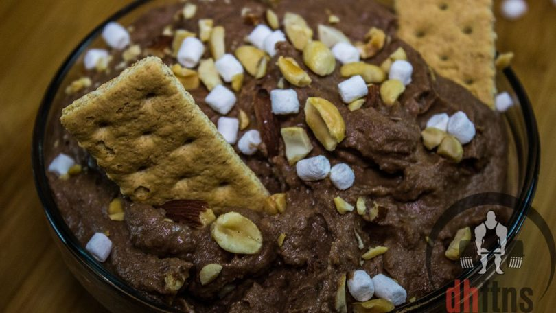 Rocky Road Protein Dip Recipe