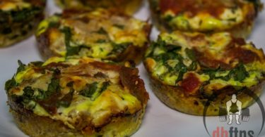 Spinach & Feta Tuna Muffins Recipe