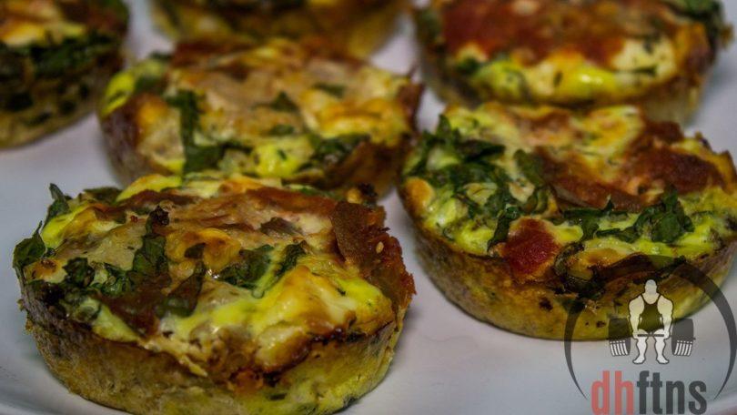 Spinach & Feta Tuna Muffins Recipe