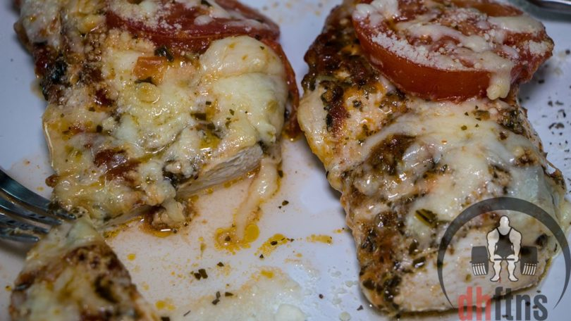 Healthy Baked Chicken Pesto Recipe