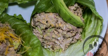 Low Carb Tuna Avocado Lettuce Wraps Recipe