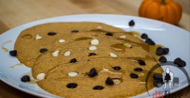 Low Carb Microwave Pumpkin Pancakes Recipe