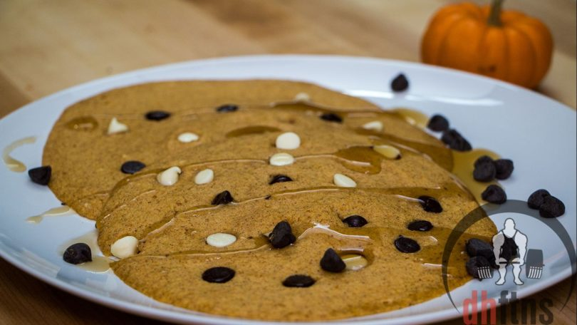 Low Carb Microwave Pumpkin Pancakes Recipe
