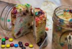 Bodybuilding M&M Cake Jars Recipe