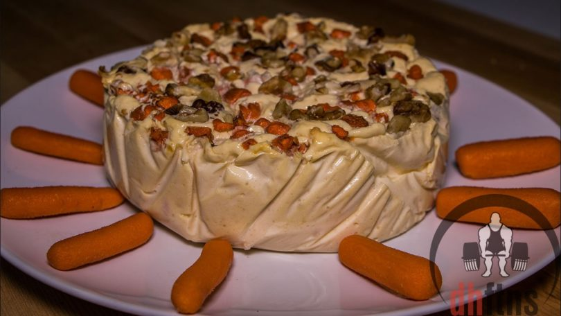 Carrot Cake Protein Cheesecake Recipe