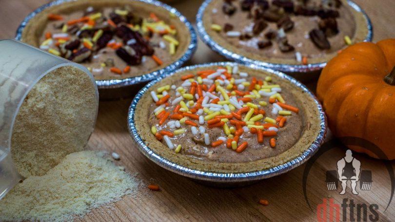 No Bake Mini Pumpkin Protein Cheesecakes Recipe