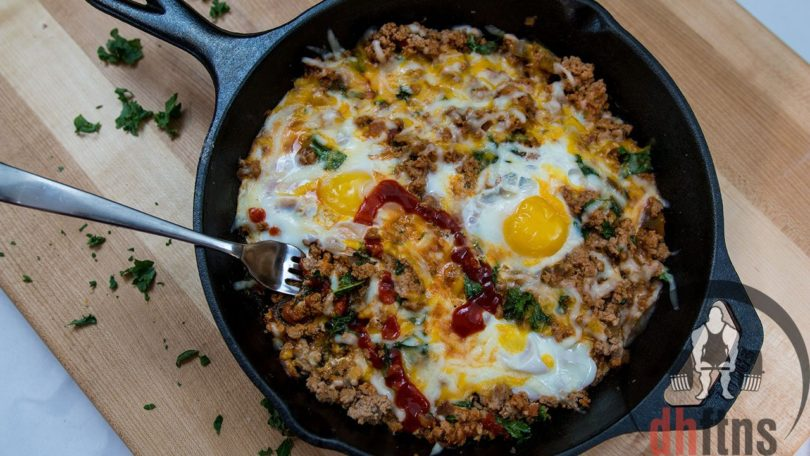 Lean Body Low Carb Breakfast Skillet Recipe