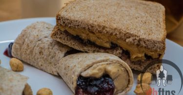 Bodybuilding Peanut Butter & Jelly Sandwiches Recipe