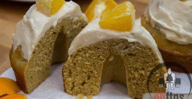 Healthy Orange Cream Bread, Cake, or Cupcakes Recipe