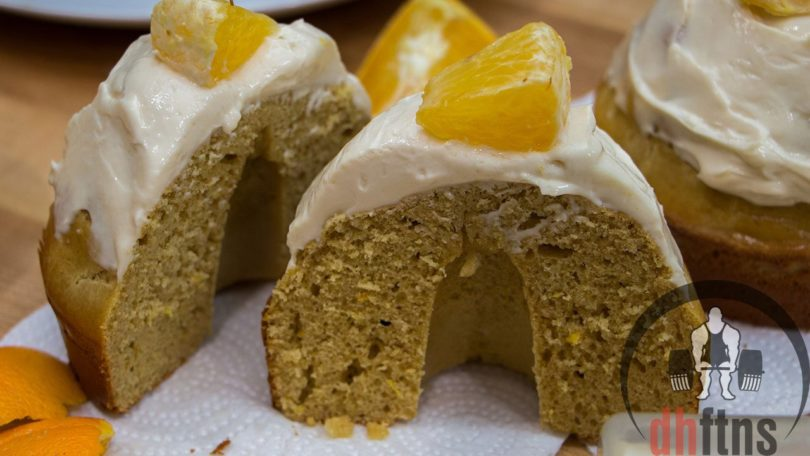 Healthy Orange Cream Bread, Cake, or Cupcakes Recipe