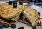 Blueberry Low Carb Pancakes Recipe