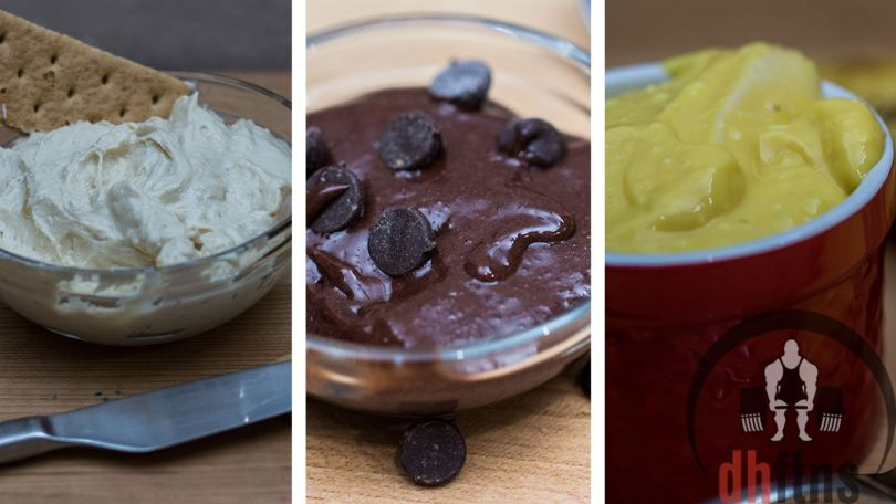 3 Quick Protein Frosting Recipes
