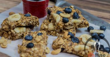 Healthy Breakfast Bars Recipe