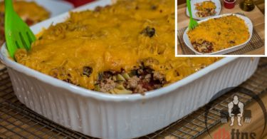 Lean Body Cheeseburger Casserole Recipe