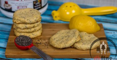 Easy Lemon Protein Cookies Recipe