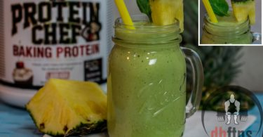Green Pina Colada Smoothie Recipe