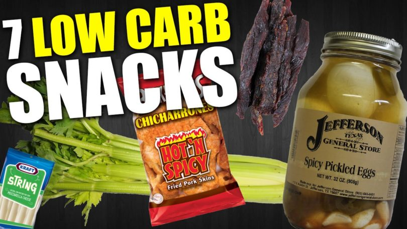 7 Low Carb Snacks