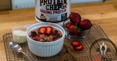 Healthy Strawberry Microwave Cobbler Recipe