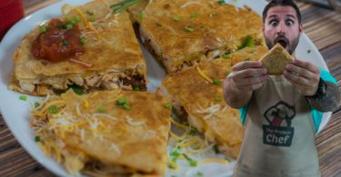 Rotisserie Chicken Quesadillas Recipe