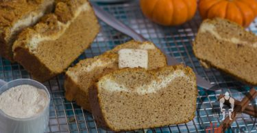 Stuffed Low Carb Pumpkin Bread Recipe
