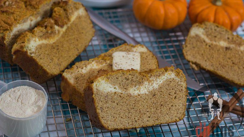 Stuffed Low Carb Pumpkin Bread Recipe
