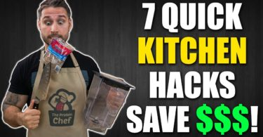 7 Quick Kitchen Life Hacks