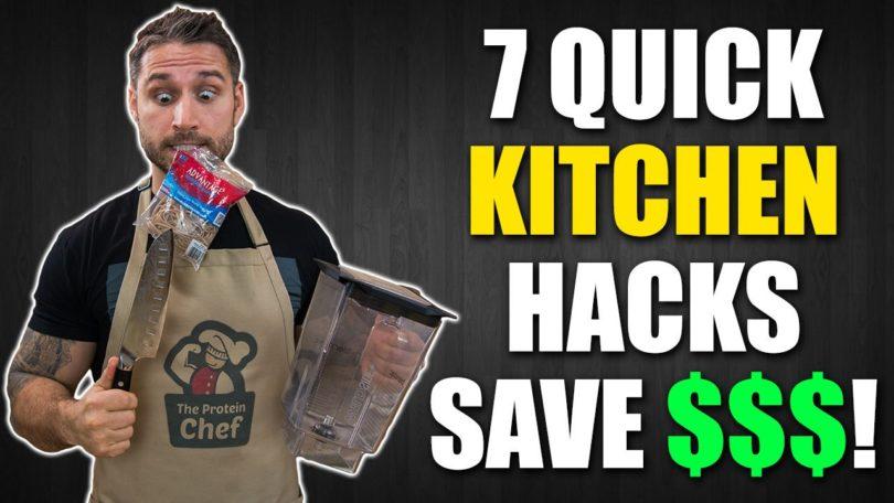 7 Quick Kitchen Life Hacks