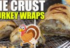 Pie Crust Sliced Turkey Wraps Recipe