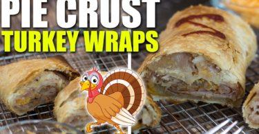 Pie Crust Sliced Turkey Wraps Recipe