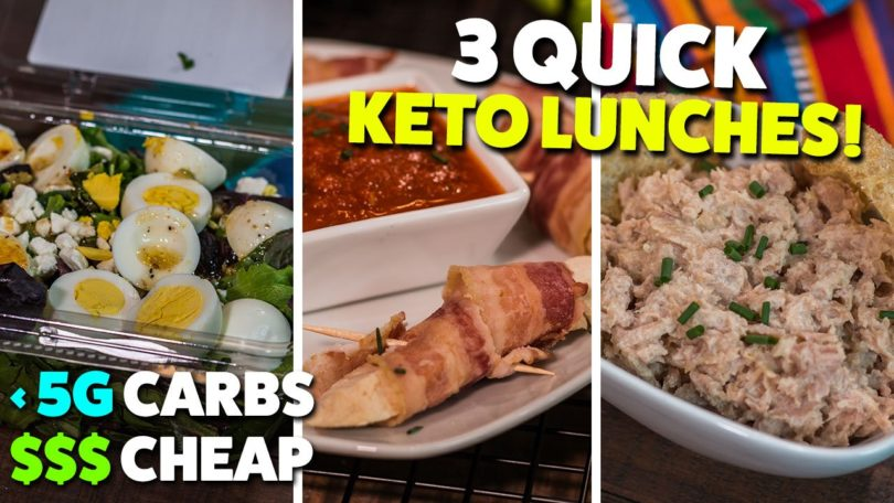 3 Keto Lunches