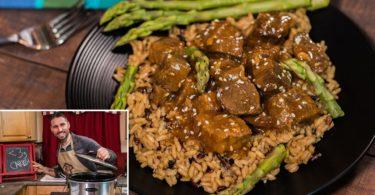 Low Carb Slow Cooker Beef Teriyaki Recipe