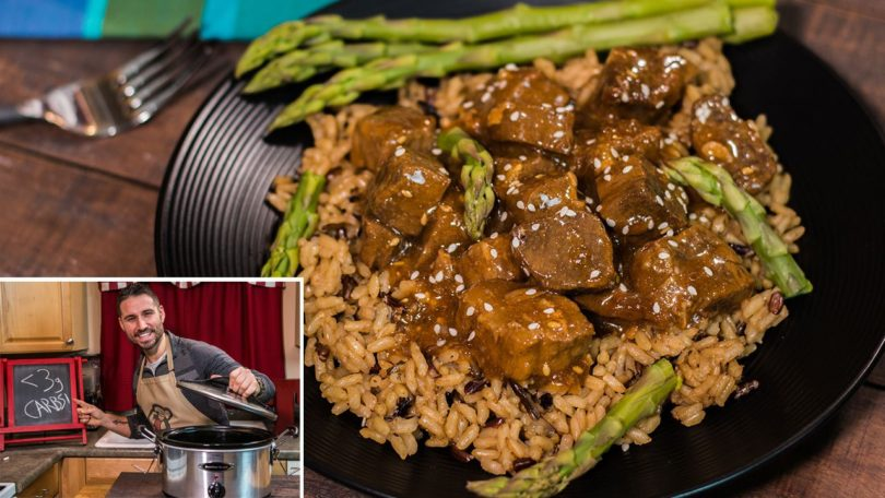 Low Carb Slow Cooker Beef Teriyaki Recipe
