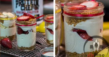 Mason Jar Cheesecakes Recipe