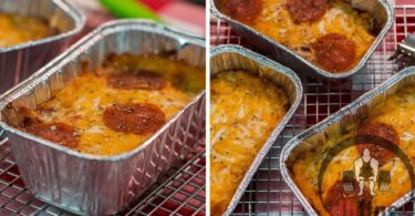Mini Deep Dish Low Carb Pizza Recipe