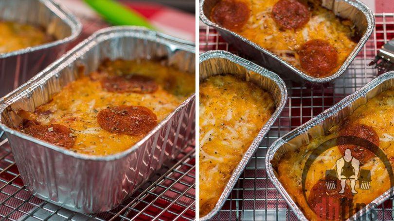 Mini Deep Dish Low Carb Pizza Recipe