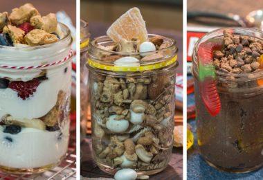 5 Minute Bar Jars Recipe