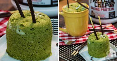Matcha Green Tea Mug Cake Recipe