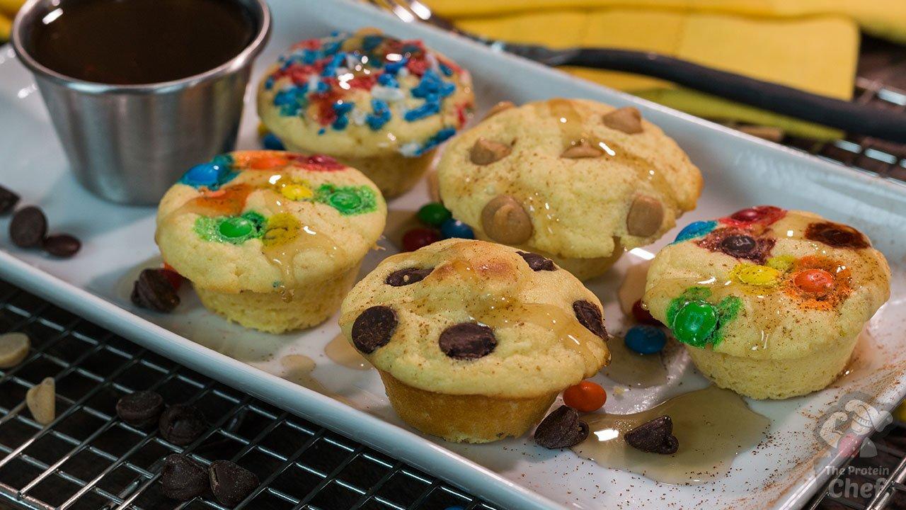 Protein Cake Recipe Low Carb: LOW CARB Protein Pancake Bites Recipe