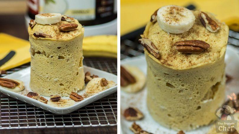 Banana Bread Mug Cake Recipe