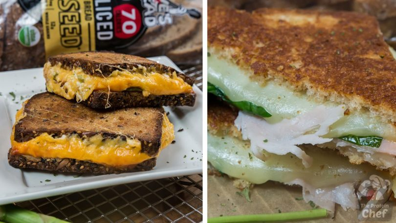 2 Easy Grilled Cheese Recipes