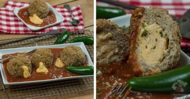 Healthy Jalapeno Popper Meatballs Recipe