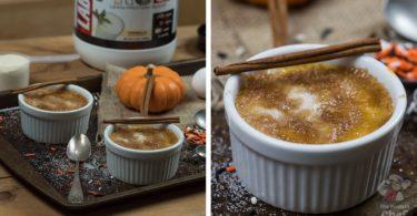 Protein Pumpkin Creme Brulee Recipe