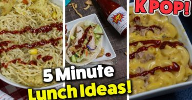 3 Quick & Easy Lunch Recipes