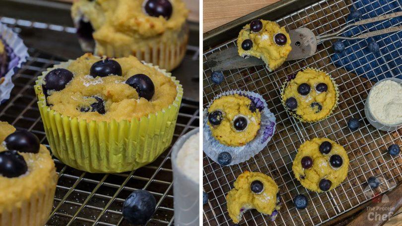 Blueberry Protein Muffins Recipe