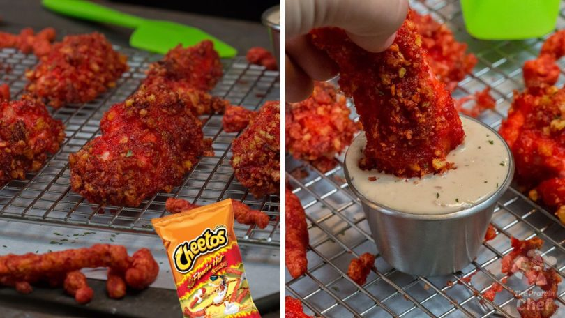 Hot Cheetos Chicken Breast Recipe