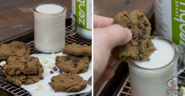 Easy Vegan Chickpea Protein Cookies Recipe