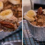 Slow Cooker Banana Bread Protein Oatmeal Recipe